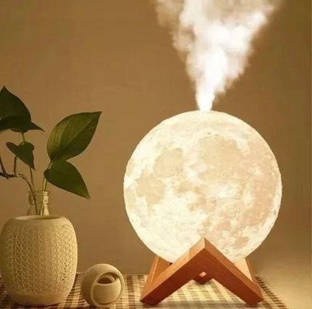Lua abajur 3D  - Foto 2