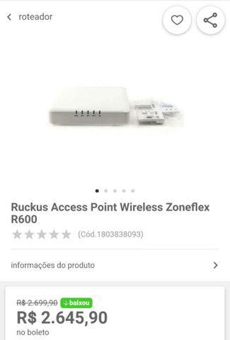 Roteador de rede ruckus - Foto 2