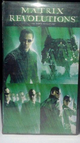 VHS - Matrix Revolutions (Dublado)(Original-WB)