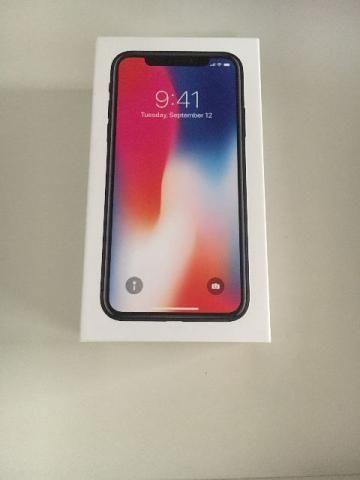 Iphone X 64GB Novo
