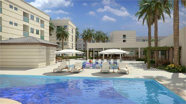 Apartamento Resort Encontro das Águas em Caldas Novas