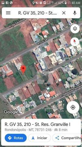 Terreno à venda, 450 m² por r$ 105.000 - setor residencial granville i - Foto 2