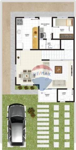 Casa duplex em novo bairro da cidade - Foto 14