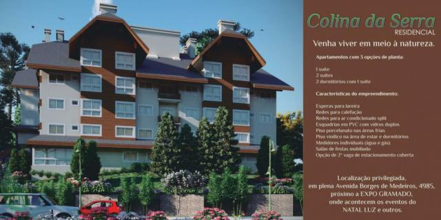 Apartamento à venda com 1 dormitórios em Centro, Gramado cod:NI05516 - Foto 2