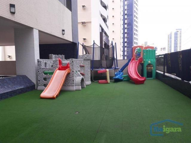 Apartamento com 3 dormitórios à venda, 100 m² por r$ 570.000,00 - cidade jardim - salvador - Foto 8