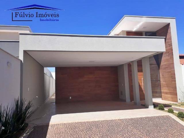 Casa Moderna! 03 suítes com closet e área de lazer completa. Vicente Pires! - Foto 2