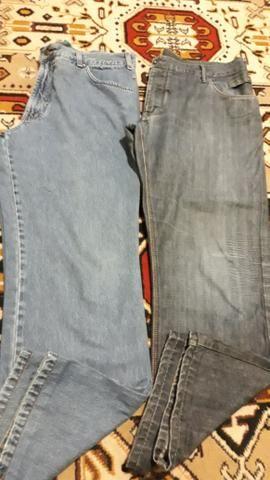2 calças,masculinas, 52