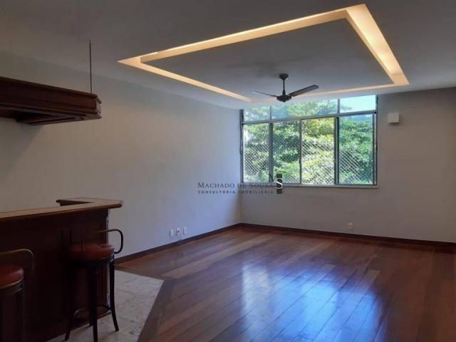 Apartamento com 3 dormitórios para alugar, 130 m² por R$ 3.700/mês - Laranjeiras - Rio de  - Foto 20
