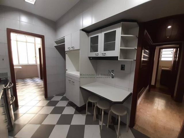 Apartamento com 3 dormitórios para alugar, 130 m² por R$ 3.700/mês - Laranjeiras - Rio de  - Foto 14