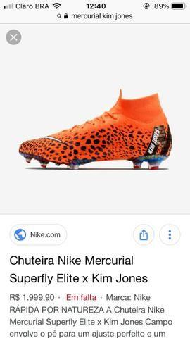 53d3184149 Chuteira Nike mercurial - Roupas e calçados - Novo Osasco