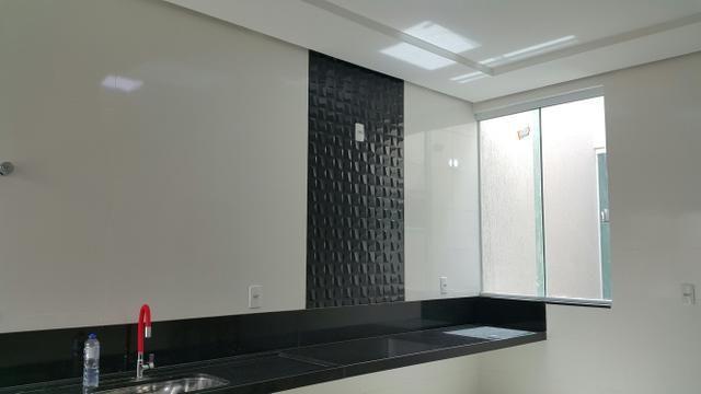 Casa nova 3quartos 3suites piscina churrasqueira rua 06 Vicente Pires condomínio - Foto 7