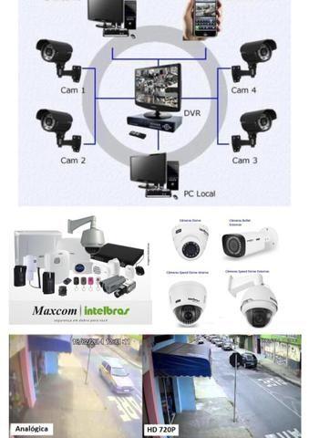 Venda,Instalação e manutenção de equipamentos de segurança eletrônica - Foto 2