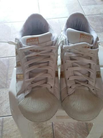 1e4357568a Adidas super star tam 38 - Roupas e calçados - Vila Caiçara