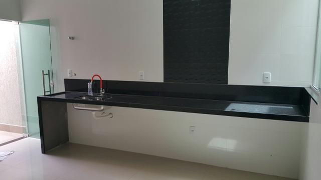 Casa nova 3quartos 3suites piscina churrasqueira rua 06 Vicente Pires condomínio - Foto 8
