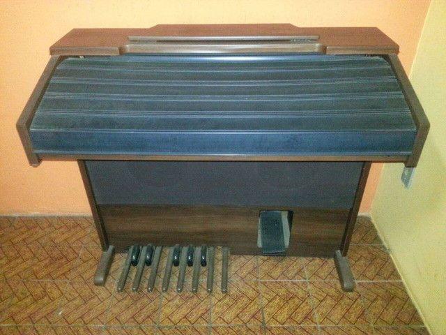 Órgão Tokai Md-10 Marrom - Foto 3