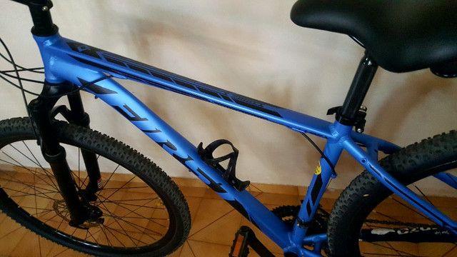 Bike bicicleta First aro 29 montada - Foto 3