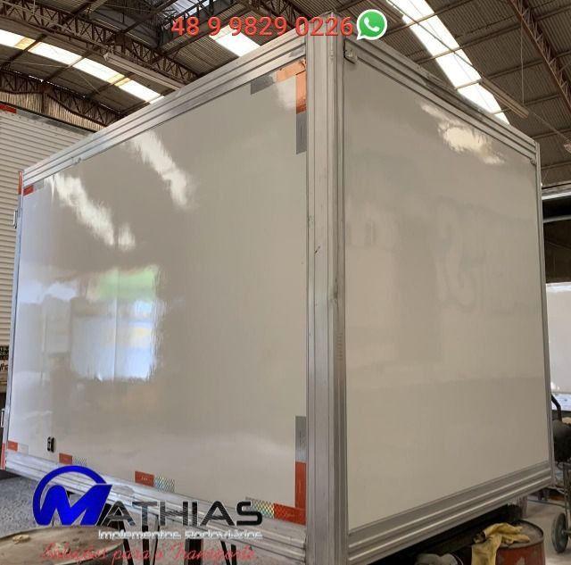 Baú frigorífico para HR ou Kia Bongo Mathias Implementos