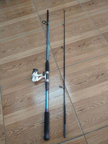 3-Kit para pescar de tilapias (varas firmes para pesca de batida e dedo duro ) - Foto 3