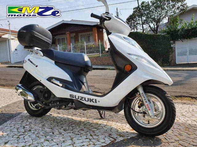 Suzuki Burgman I 125 2019 Branca com 800 km - Foto 11