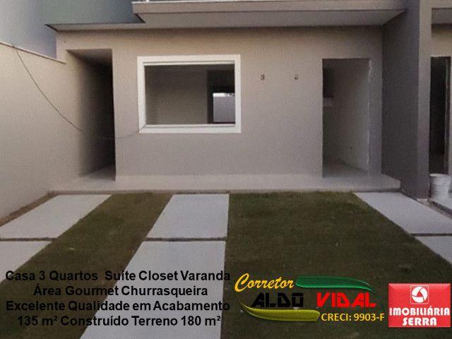 ARV 11. Casa 3 Quartos, Varanda, Suíte, Churrasqueira, Quintal Grande - Foto 12