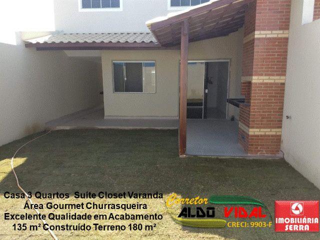 ARV 11. Casa 3 Quartos, Varanda, Suíte, Churrasqueira, Quintal Grande - Foto 7