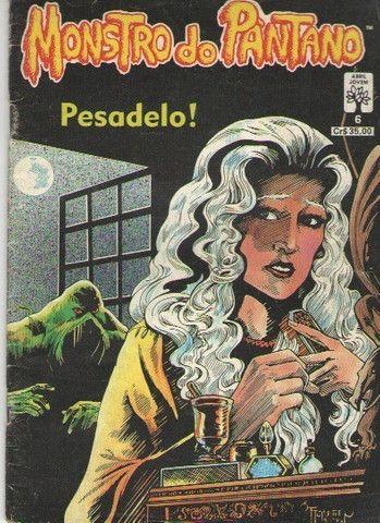 Kit 4 revistas DC (Monstro do Pântano e Armagedon 2001) - Foto 4