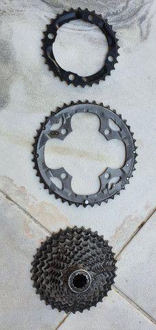 Vendo peças bike 10v - Foto 4