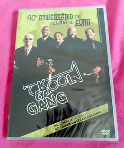 Dvd Kool & The Gang Original Lacrado!