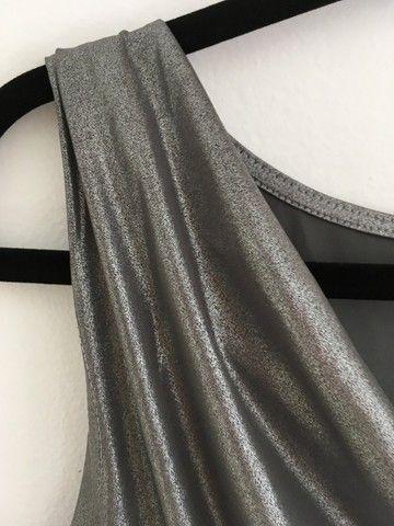 Blusa lurex gola boba - Foto 3