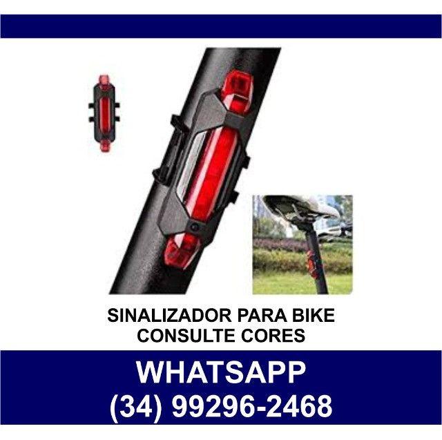 Sinalizador Led para Bike Recarregável * Consulte Cores * Fazemos Entregas