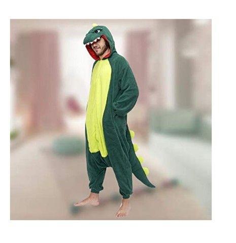 Lindo Pijama Dinossauro Skin Game Free Fire Festa do Pijama - Foto 3