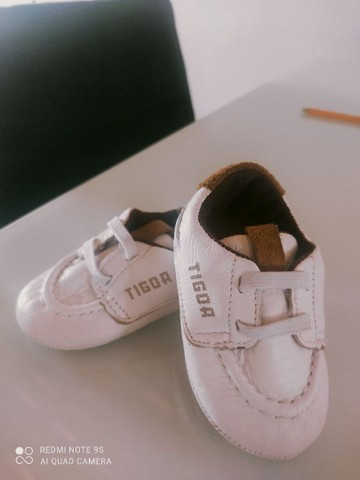 Sapatinho Tigor baby tamanho18