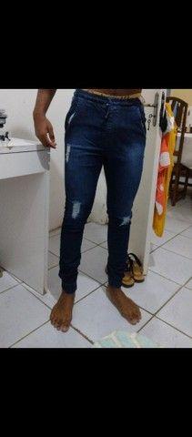 calça masculina tam 42 nunca usada  - Foto 2