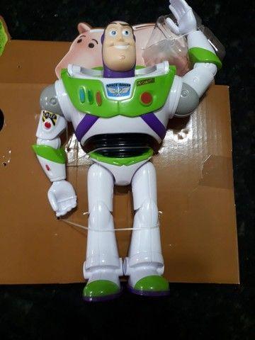 Woody ou Buzz ou coelho ou cão ou robô toy story mattel novos - Foto 4