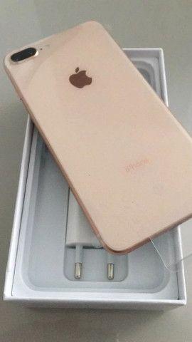 iPhone 8 plus 64gb cor Gold - Foto 3