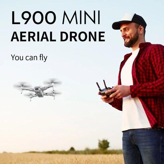 Drone L900 Pro 4k GPS Distância 1,2km Vôo 25mins Função Siga-me automático PROMOÇÃO - Foto 4