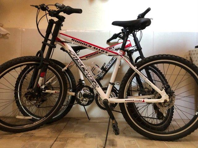 Vendo 2 bicicletas alumínio Aro 26, 18 marchas