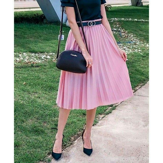 Saia plissada - Attractiva Fashion  - Foto 2