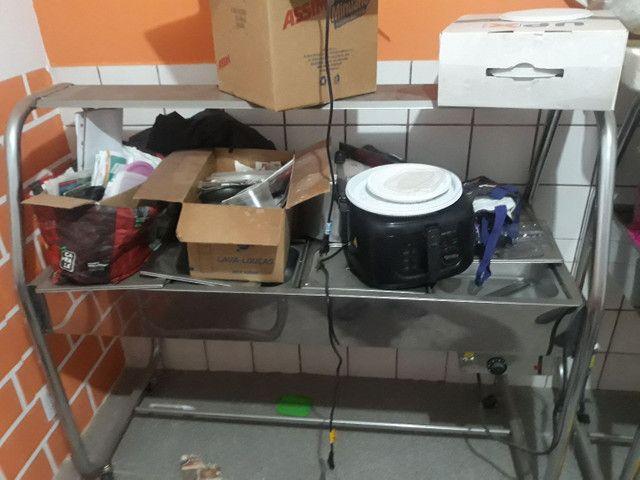Vendo estufa quente e frio - Foto 6