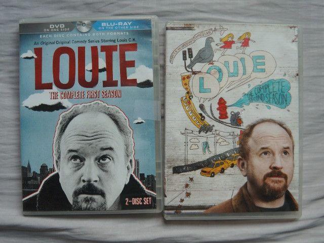Louie 1ª e 2ª temporada (Louis CK) DVD/Blu Ray