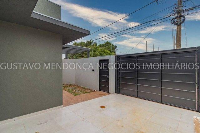 Linda casa nova no bairro Rita Vieira 1 - Alto padrão de acabamento e em excelente localiz - Foto 17