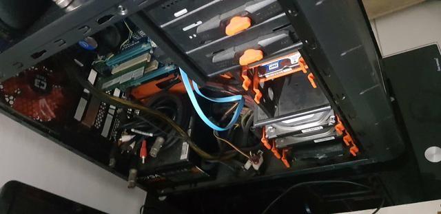 Cpu gamer Intel core I5, 8gb RAM, 1tb HD, 256gb Ssd Kingston Fonte Real