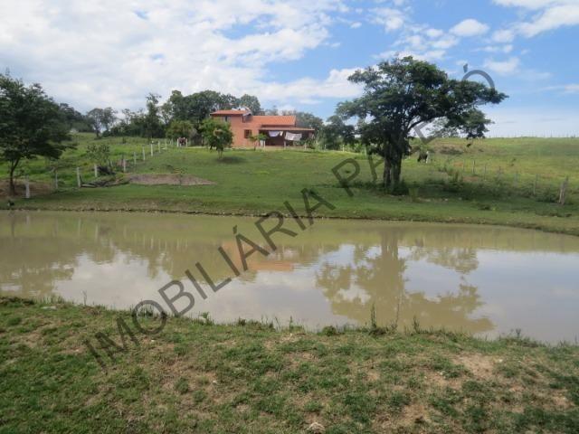 REF 240 Chácara 6000 m², açude com peixes, mata nativa, excelente casa, Imobiliária Paletó - Foto 10