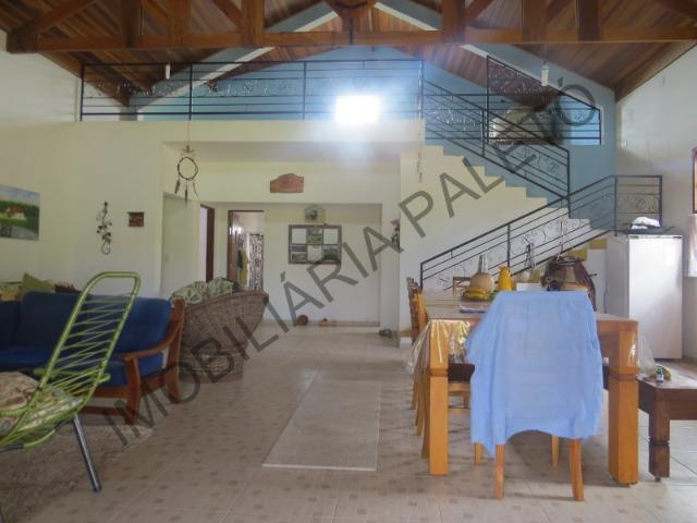 REF 240 Chácara 6000 m², açude com peixes, mata nativa, excelente casa, Imobiliária Paletó - Foto 6