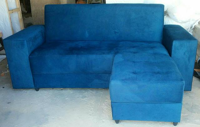 Pronta entrega!! Sofá + chaise Novo