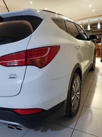 Hyundai Santa Fé 2015 Raridade 3.3 7 Lugares 270cv 28.000 Km Zerada - Foto 4