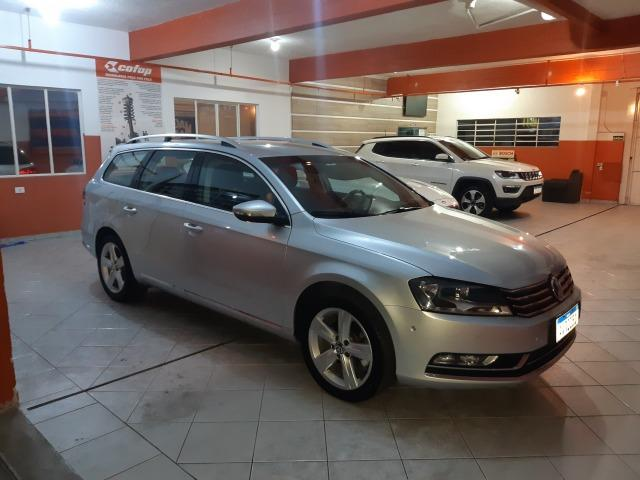 Passat variant 2.0 turbo exclusive 2014 - Foto 12