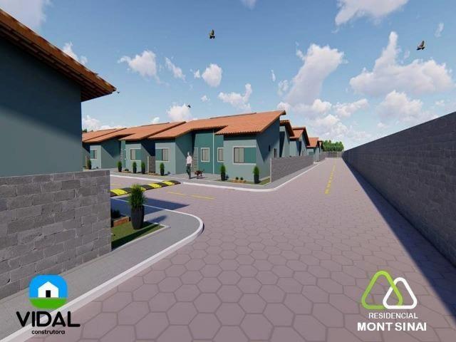 Casas no Residencial Mont Sinai com ITBI e Cartório Grátis!! - Foto 6