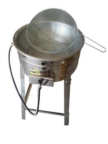 Fritadeira Tacho Pasteleiro, Salgados e Frituras em geral Inox
