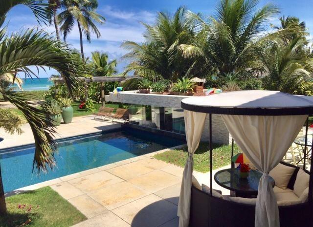 Luxuosa casa duplex com mobília sofisticada á beira mar da reserva do paiva confira-E - Foto 4
